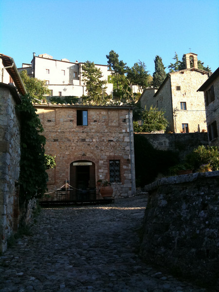 "This evening's restaurant:  ""La Cisterna"" in Rocca d'Orcia"
