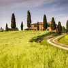 Farmhouse in Tuscany near Pienza, Italy