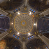 The nave ceiling and Dome