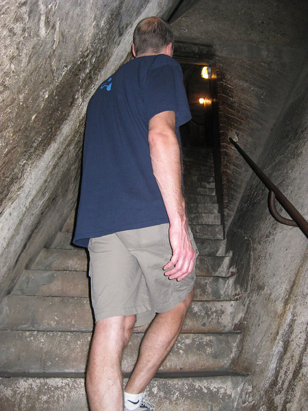 Climbing to the top of il Duomo