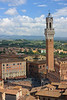 ". . . and I could see down into the Piazza del Campo (""the Campo""), one of the finest public squares in Italy."