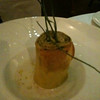 Fancy dinner at Borgo San Jacopo:  Zucchini Lasagna