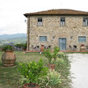 "Site of our Picnic Lunch:  Agriturismo ""La Quercia"" on the hill between Greve and Panzano in Chianti"