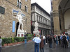 We drove north to Florence and into the city to drop off our car -- quite an experience driving in the center of the city -- checked into the Hotel Casci and walked to the Uffizi Gallery to pick up our reserved tickets.