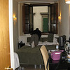 Our room at Hotel Globus, yes it was that small