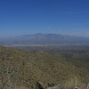 View of Santa Catalina Mountains from Wasson Peak