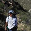 Richard on Upper Sabino Canyon Trail
