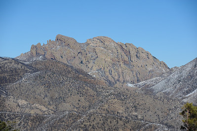 Cochise Head, Chiricuhua National Monument, Arizona
