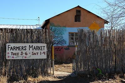 Farmers Market, Gila, New Mexico