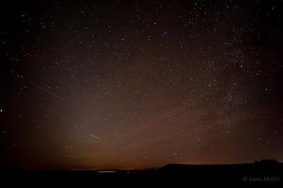 Stars, City of Rocks State Park, New Mexico