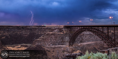 Twin Falls, Idaho - Perrine Bridge. July 31, 2013 at 9:08 PM.