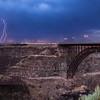Twin Falls, Idaho - Perrine Bridge. July 31, 2013 at 9:08 PM.