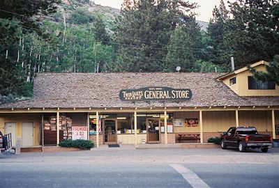 7/5/05 General Store @Lower Twin Lakes. Toiyabe National Forest, Eastern Sierras, Mono County, CA