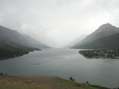 Upper  Waterton Lake, in the evening...