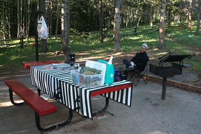 Circle Park campsite
