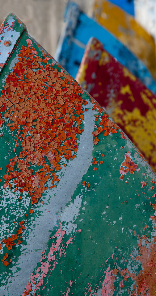 Old amusement park boats, Tybee Island 2011