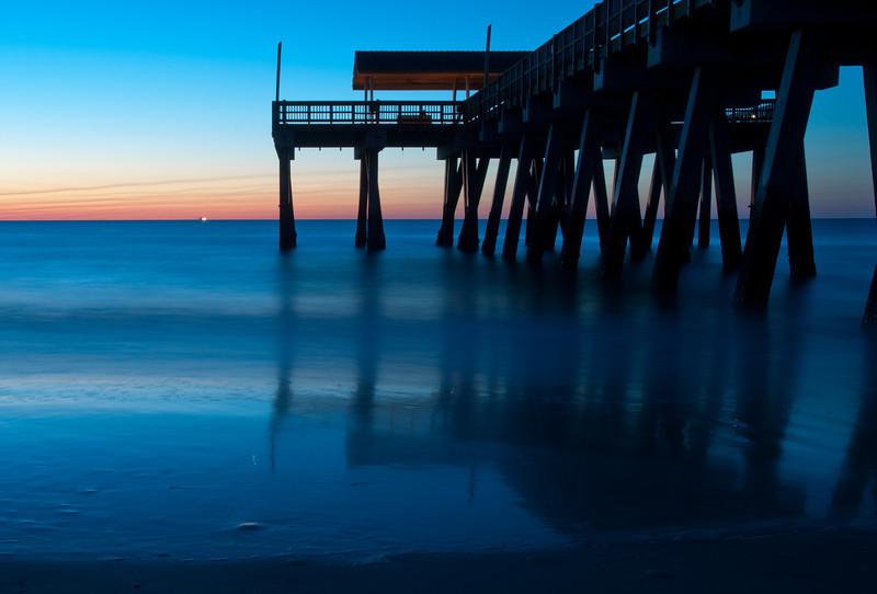 Dawn, Tybee Island Pier, GA