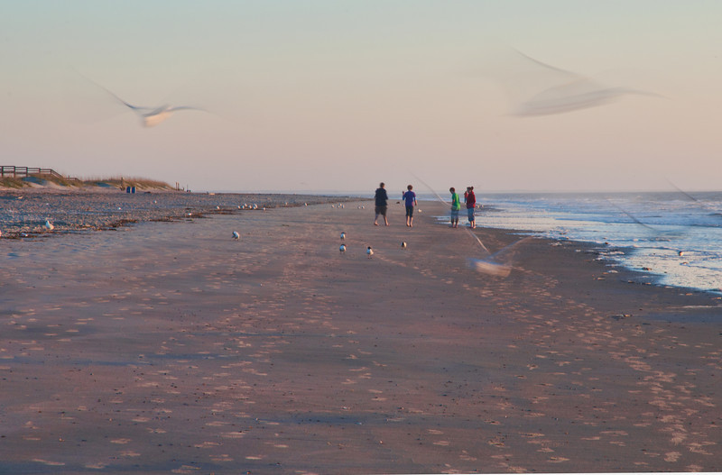 Early morning - Tybee island 2011