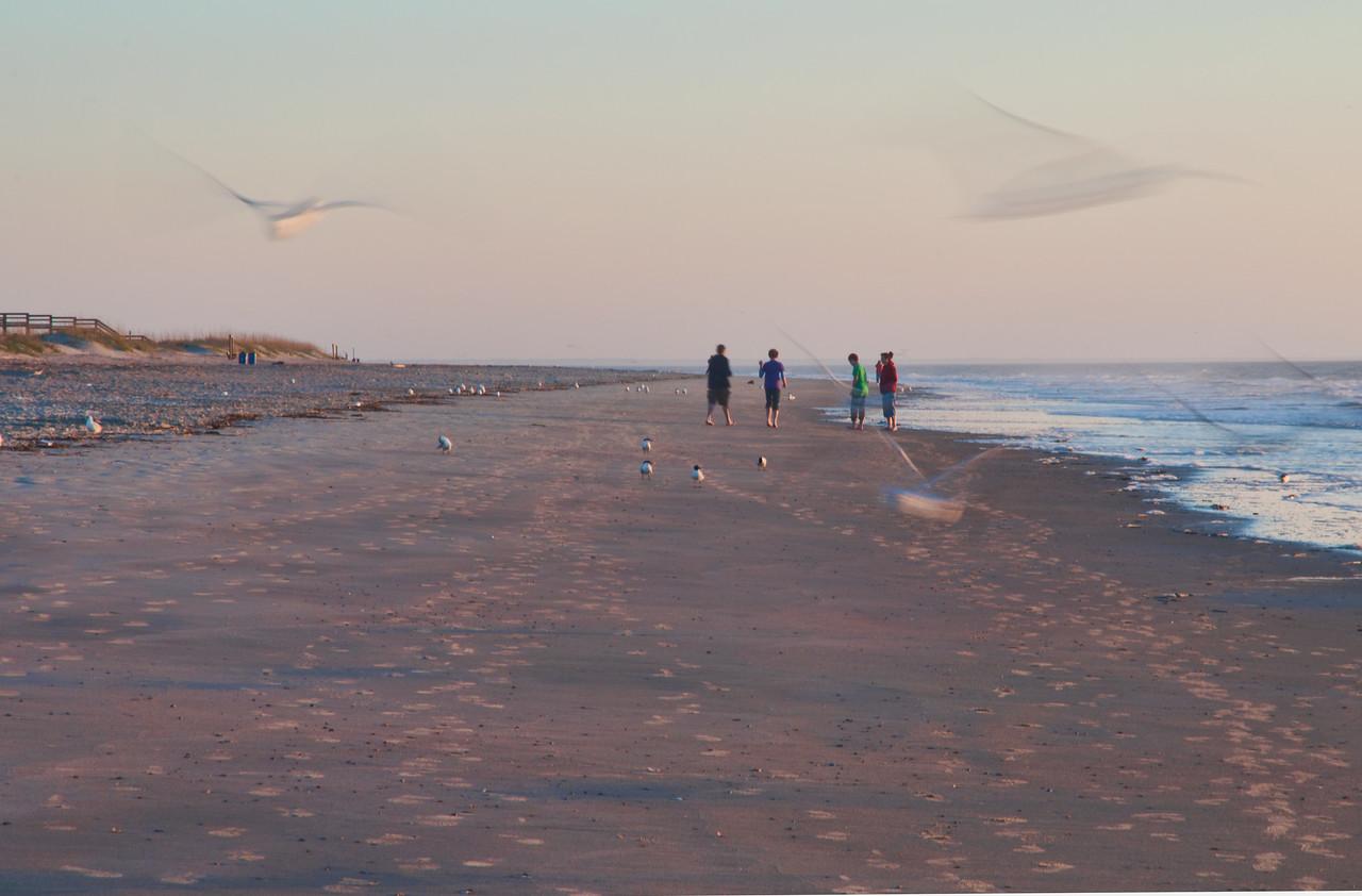Early morning - Tybee island 2011