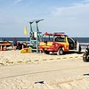 Baywatch set on Tybee Island Beach
