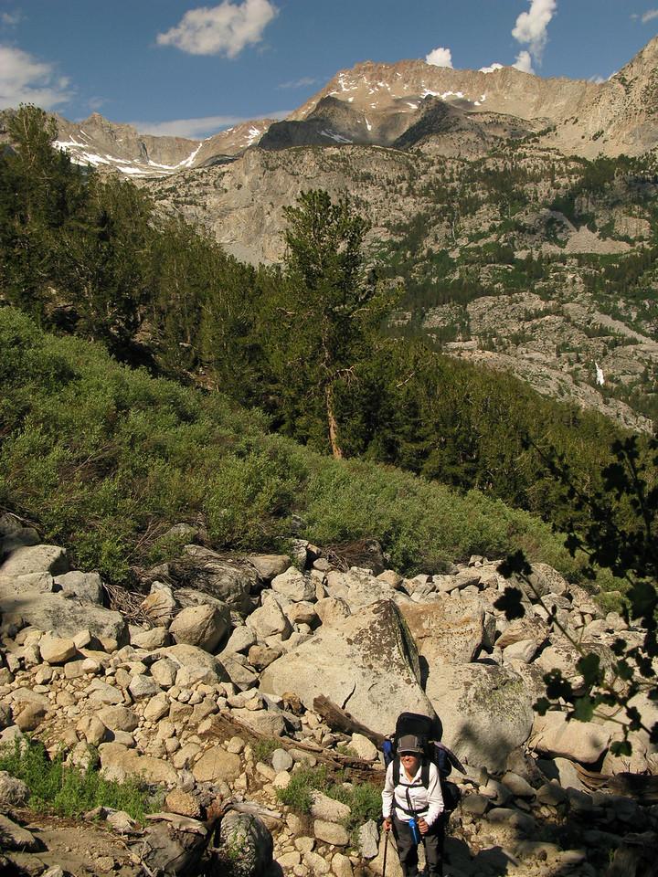 up the George Lake trail