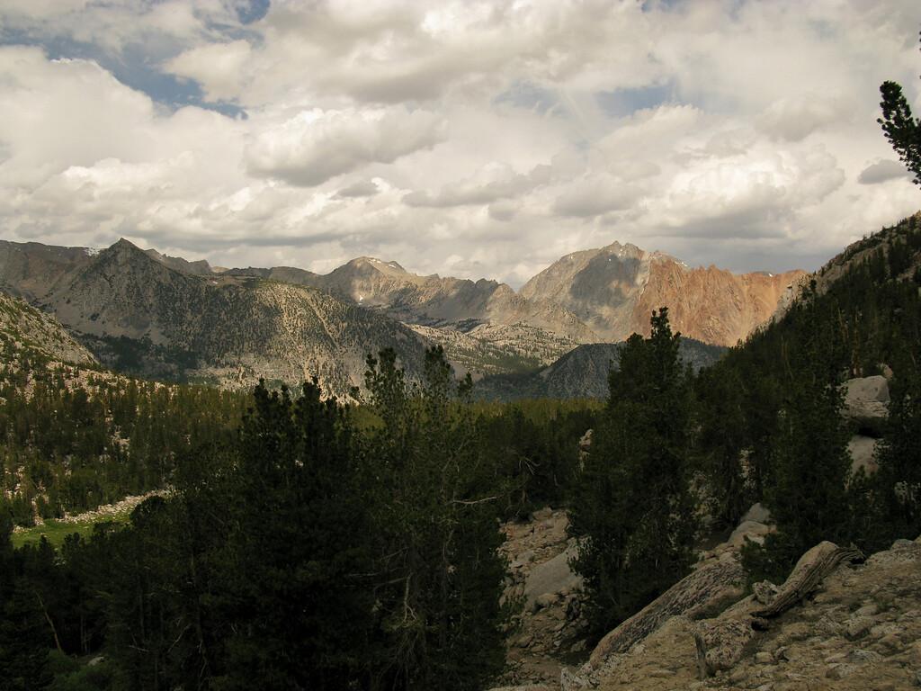 northward views, piute crags, etc.
