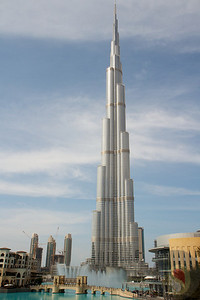 THE BURJ KHALIFA — THE TALLEST BUILDING IN THE WORLD