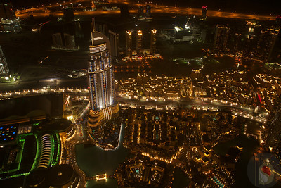 Address Downtown Dubai from  BURJ KHALIFA