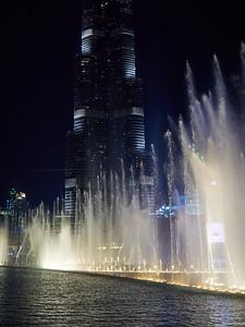 The Dubai Fountain at Burj Khalifa