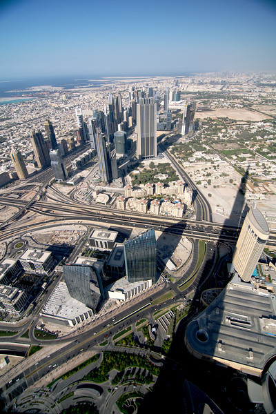 "A very, very expensive ticket to ride to the 124th floor observation deck of the <a href=""http://www.burjkhalifa.ae/"">Burj Khalifa</a>."