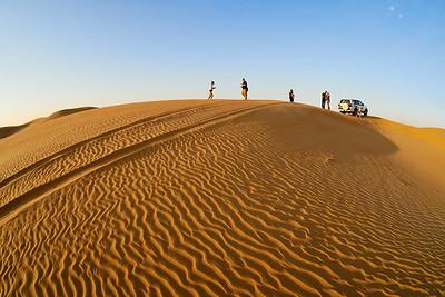 The Desert Jeep Safari