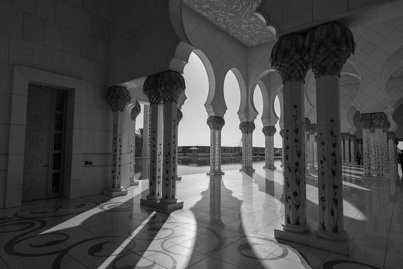 Sunlight through the Pillars