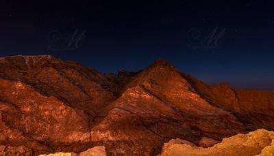 Red Rock night