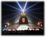 Chung Tai Chan  Monastery by night