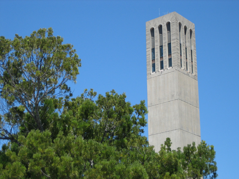 Another shot of Storke Tower