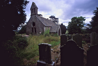 Abandoned church. Oldcastle, Monmouthshire Wales