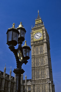 Big Ben. London, England.