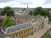 Brasenose College, Oxford University, as seen from tower of St. Mary's Church