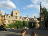 Baliol College of Oxford University; the Martyr's Memorial is to the right