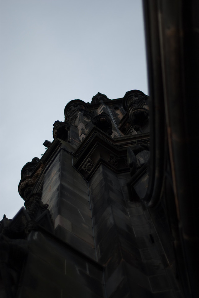 Some of the architecture of the monument