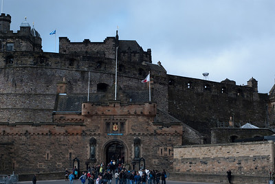 Entry to the Edinburgh Castle