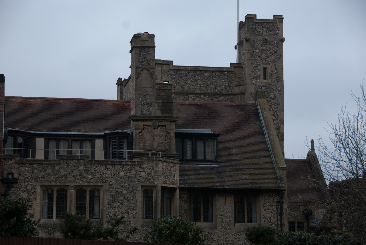 Some of the old buildings around the cathedral