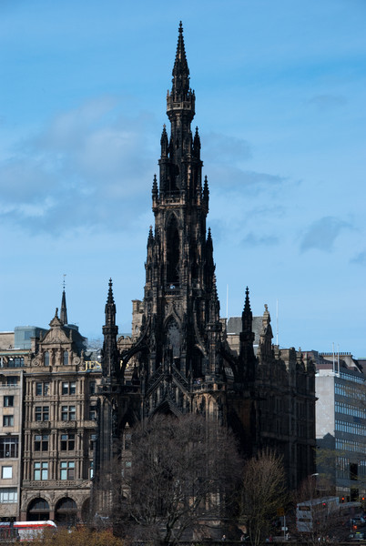 The Scott Monument, dedicated to author Sir Walter Scott