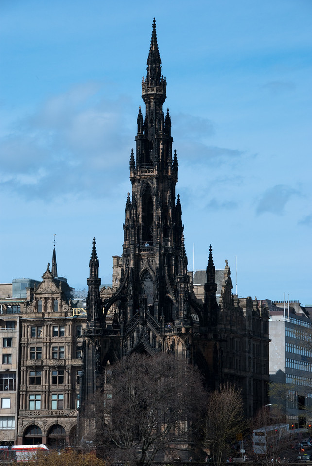 The Scott Monument, dedicated to author Sir Walter Scott