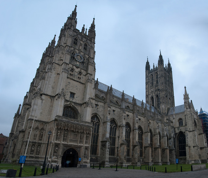 Panoramic shot of the cathedral