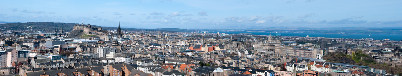 Edinburgh Panorama from the Ragged Road