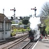 Romney, Hythe and Dymchurch Railway.  Hither, Kent
