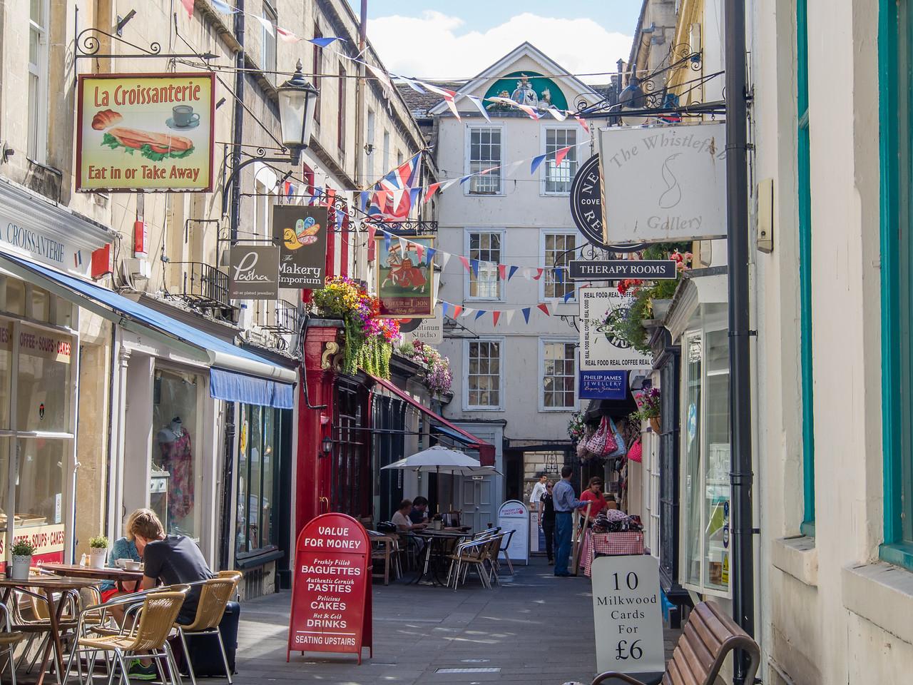 Alley Way in Bath