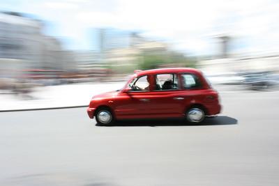 London Taxi cab.