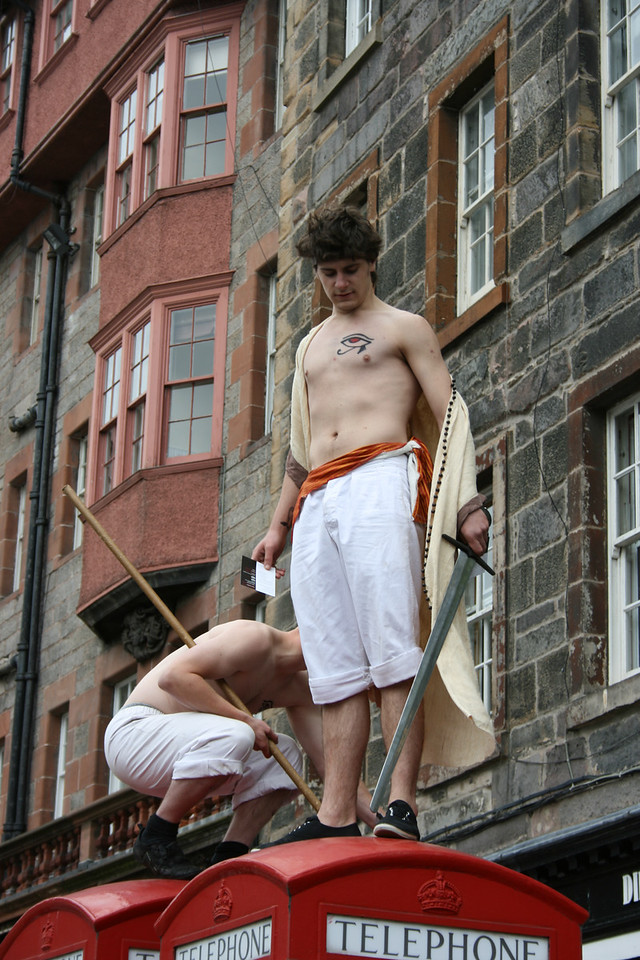Promoting a production of The Odyssey.